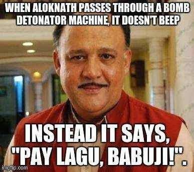 Alok Nath Funny babuji