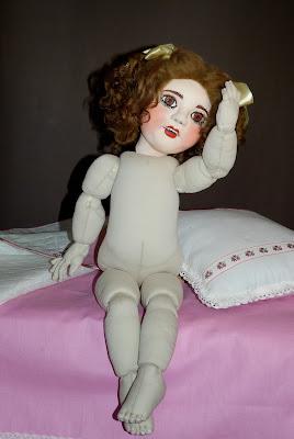 ADdoll_Annet_7 Аннет авторская текстильная шарнирная кукла Алёны Дороховой
