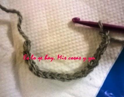 hacer una cadeneta a crochet
