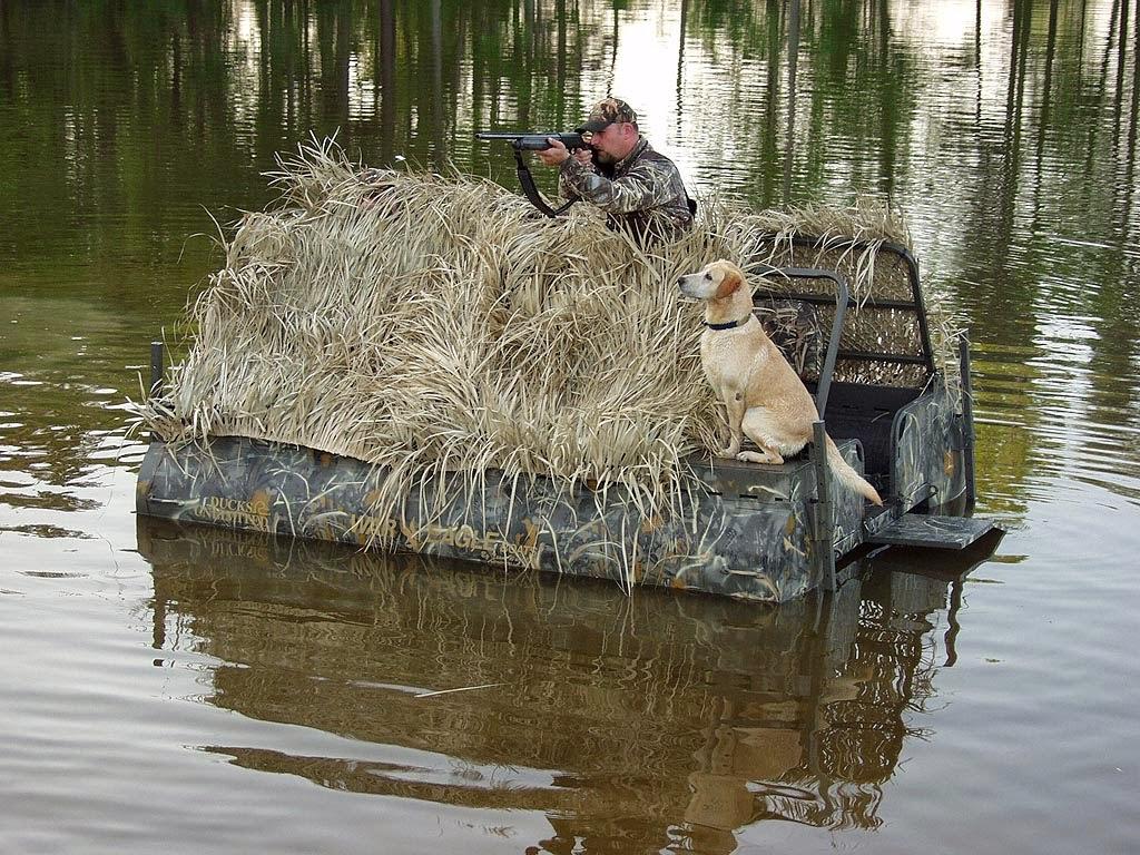 Yellow Dog Patrol War Eagle Marshtoon Floating Duck Blind