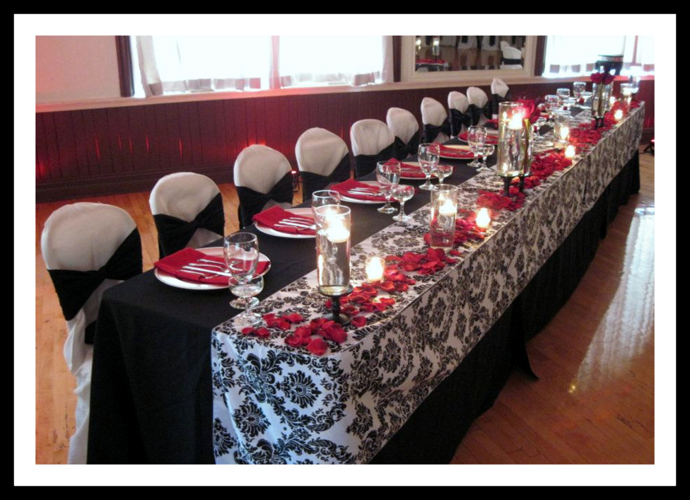 Amazing Red And Black Table Settings Images - Best Image Engine ...