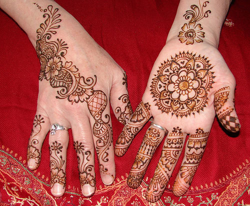 Mehndi Designs Gola : Gol tikka mehndi designs henna