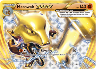 Marowak BREAK BREAKthrough Pokemon Card