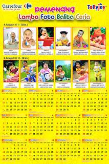 Cetak Kalender Poster 2013