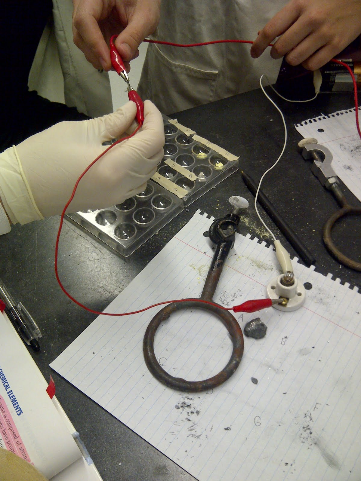 Chemistry Blog: Lab Report: Metal or Nonmetal Lab