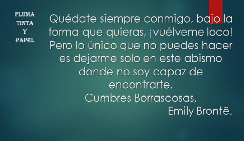 EMILY BRONTÉ