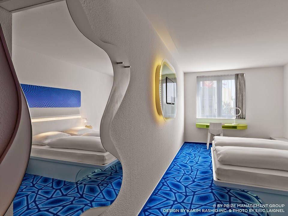 Les plus beaux hotels design du monde h tel prizeotel for Designhotel hamburg