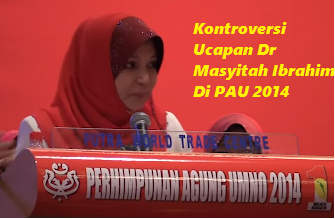 Ucapan Kontroversi Dr Mashitah Ibrahim Di PAU 2014