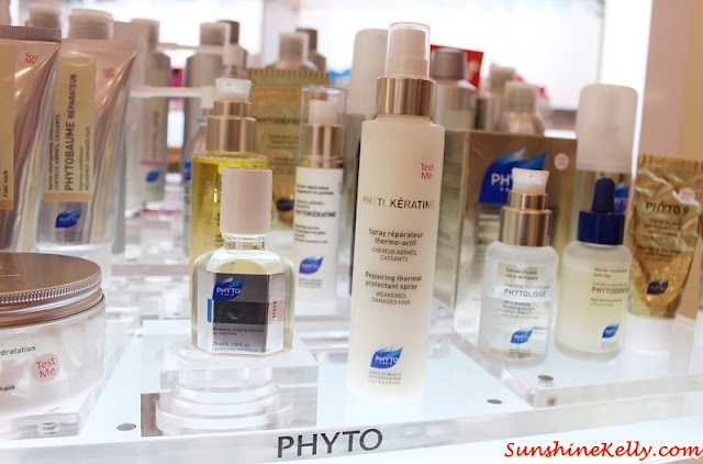 Phyto Hair Spa Experience, Phyto Malaysia, Phyto botanical hair care, phyto, robinsons, the gardens mall