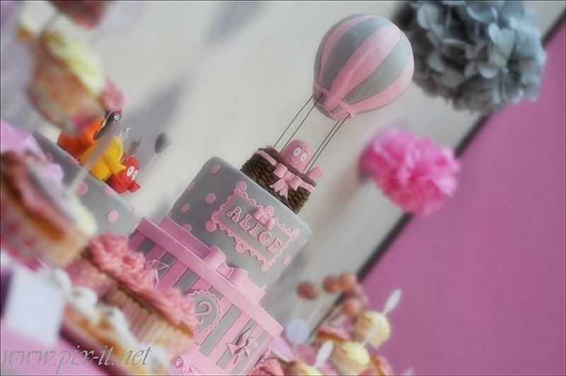 Gâteau Montgolfière
