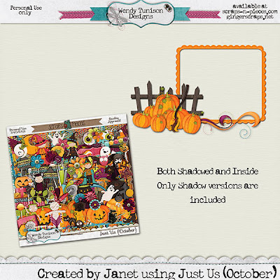 WooHoo, Another Just Us Kit from Wendy Tunison Designs!