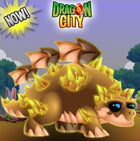 imagen de la oferta del dragon desierto de dragon city