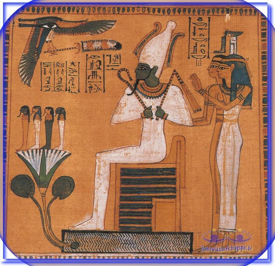 Ozyrys Egipski Bóg śmierci i życia - Neftyda i Isis Izyda - Duchowy Uzdrowiciel