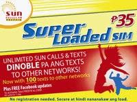 SUN Superloader SIM