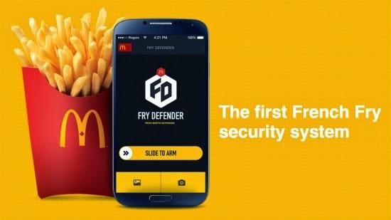 McDonalds Fry Defender