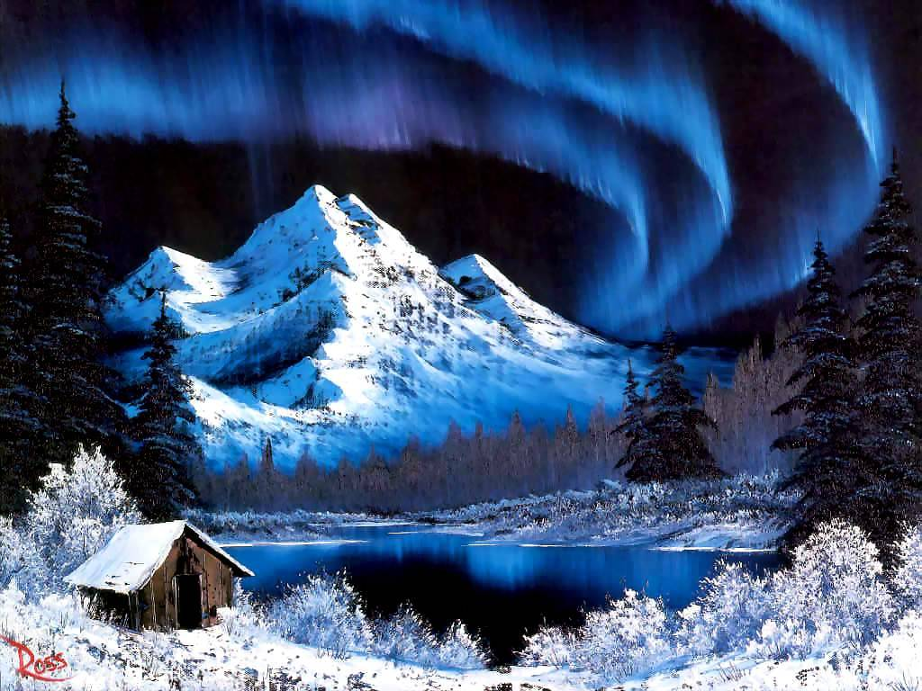 bob ross paintings by - photo #25