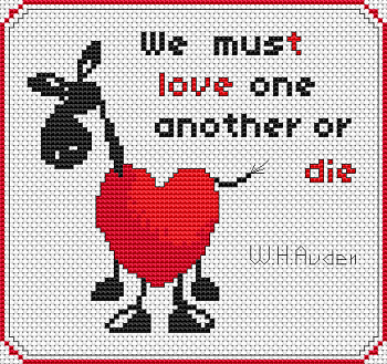 We must love...