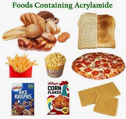 produk makanan ACRYLAMID