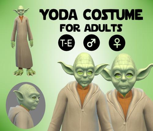 & Yoda Costume help??   Sims 4 Studio