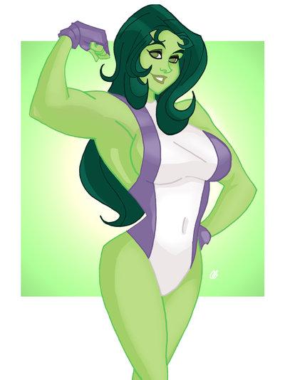 She Hulk por BestNameEver