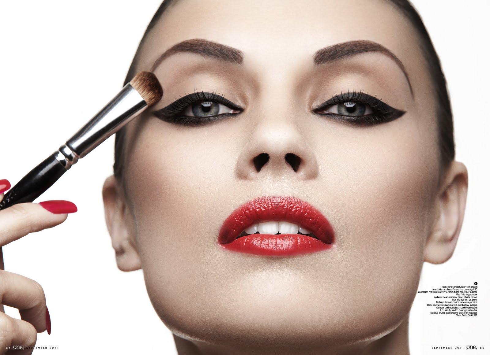 Профессиональный конкурс по макияжу