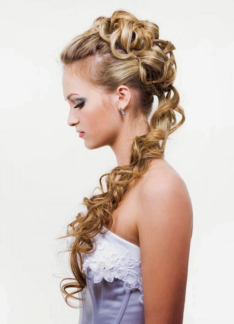 elegant hairstyles for long hair wedding