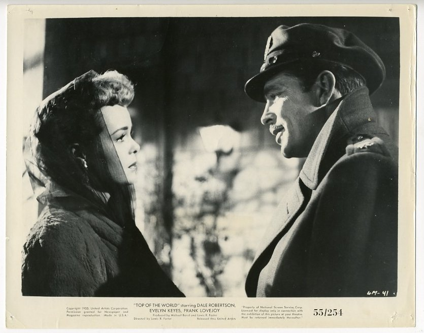 Lauras Miscellaneous Musings Tonights Movie Top of the World 1955