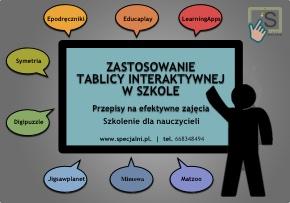 TABLICA INTERAKTYWNA - SZKOLENIA