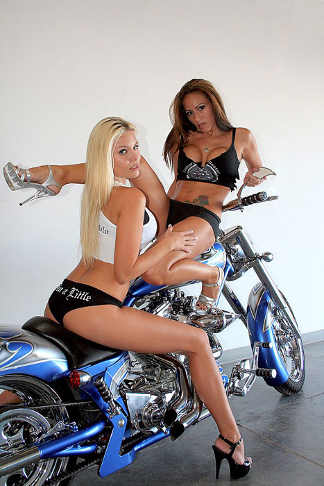 Nude Biker Ladies 6