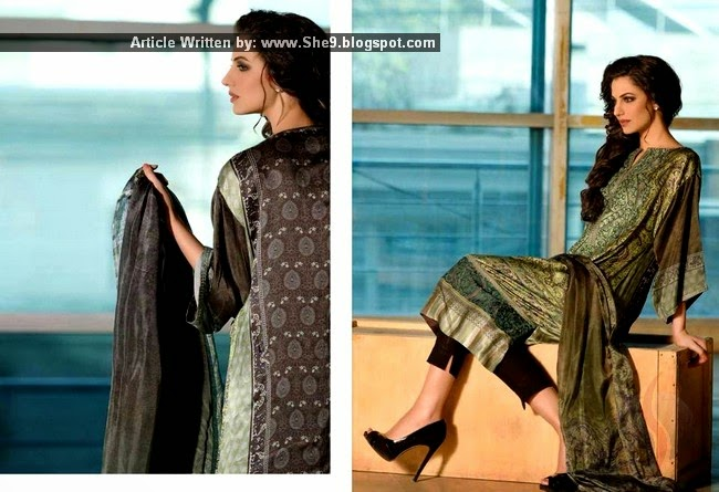 Sobia Nazir Silk Collection 2014-2015