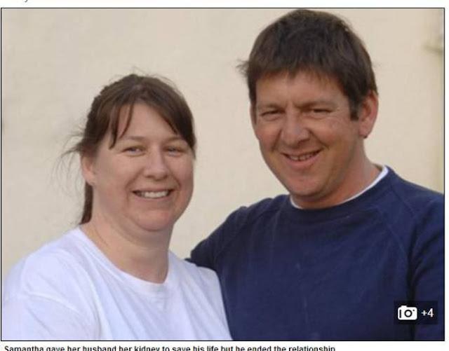 Depois de ser traida mulher quer o seu rim devolta, já que ela doou para o marido