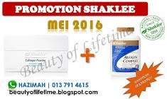 Promo Shaklee Mei 2016