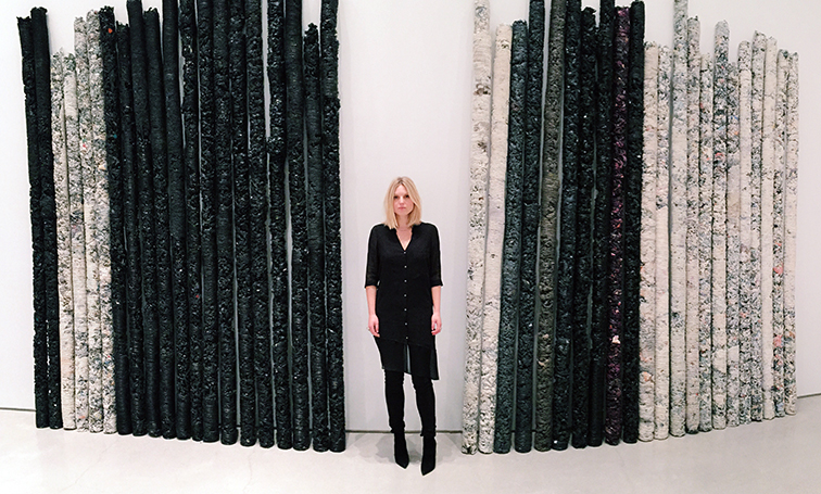 Fashion Over Reason at the Helmut Lang exhibit in New York at Sperone Westwater