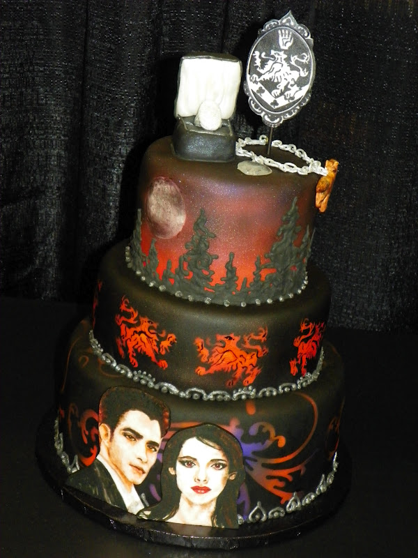 Plumeria Cake Studio Twilight Saga Showpiece Cake