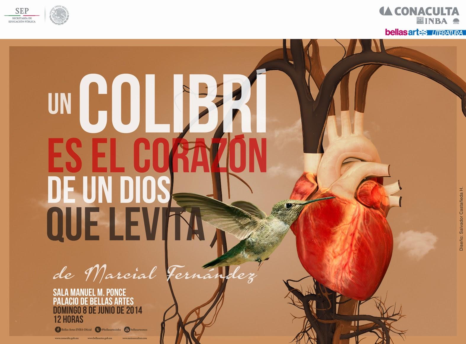 """Presentación del libro """"Un colibrí es el corazón de un Dios que levita"""" de Marcial Fernández"""