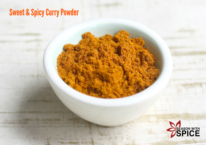 Sweet & Spicy Curry Powder available at SeasonWithSpice.com