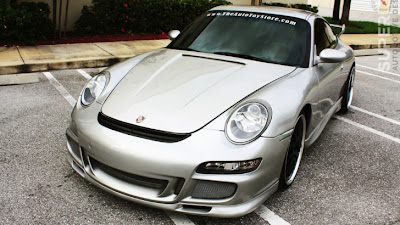 Porsche 911 GT3 996 Gets Stretched