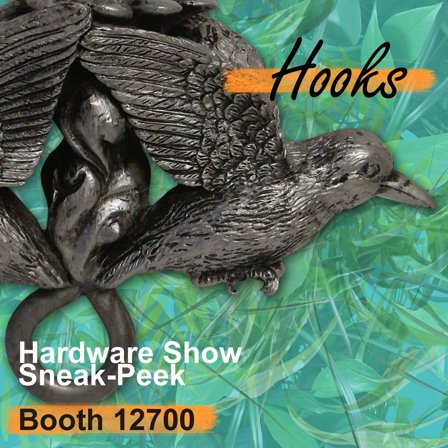 Hardware Show Sneak-Peek - Ceiling Hooks Visit Booth 12700