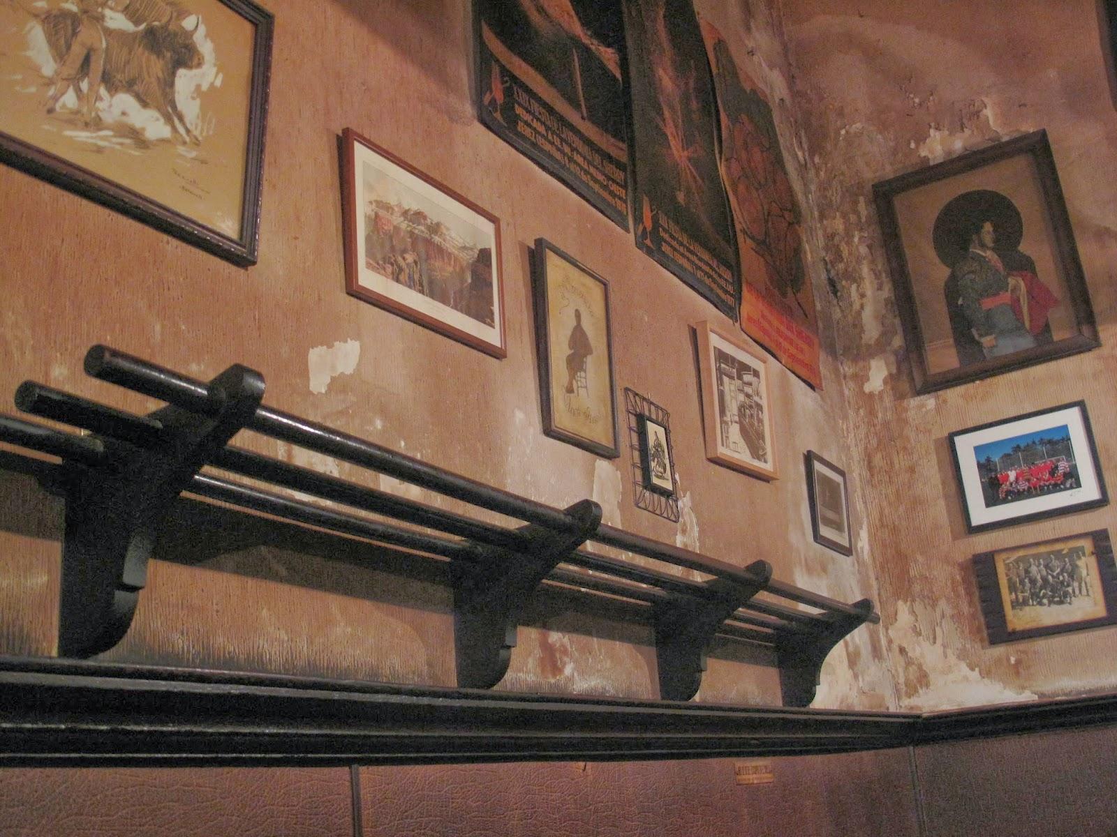 Barrio de las Letras. Madrid. La venencia. Inspección Tabernaria