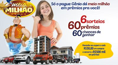 Promoção Show de Prêmios - Supermercado Pague Menos