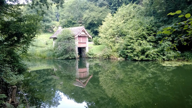 Woodchester boat house