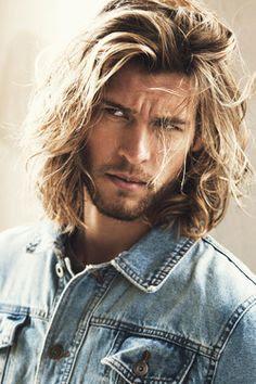 aqu las mejores imgenes de cortes de pelo largo para hombres como fuente de inspiracin