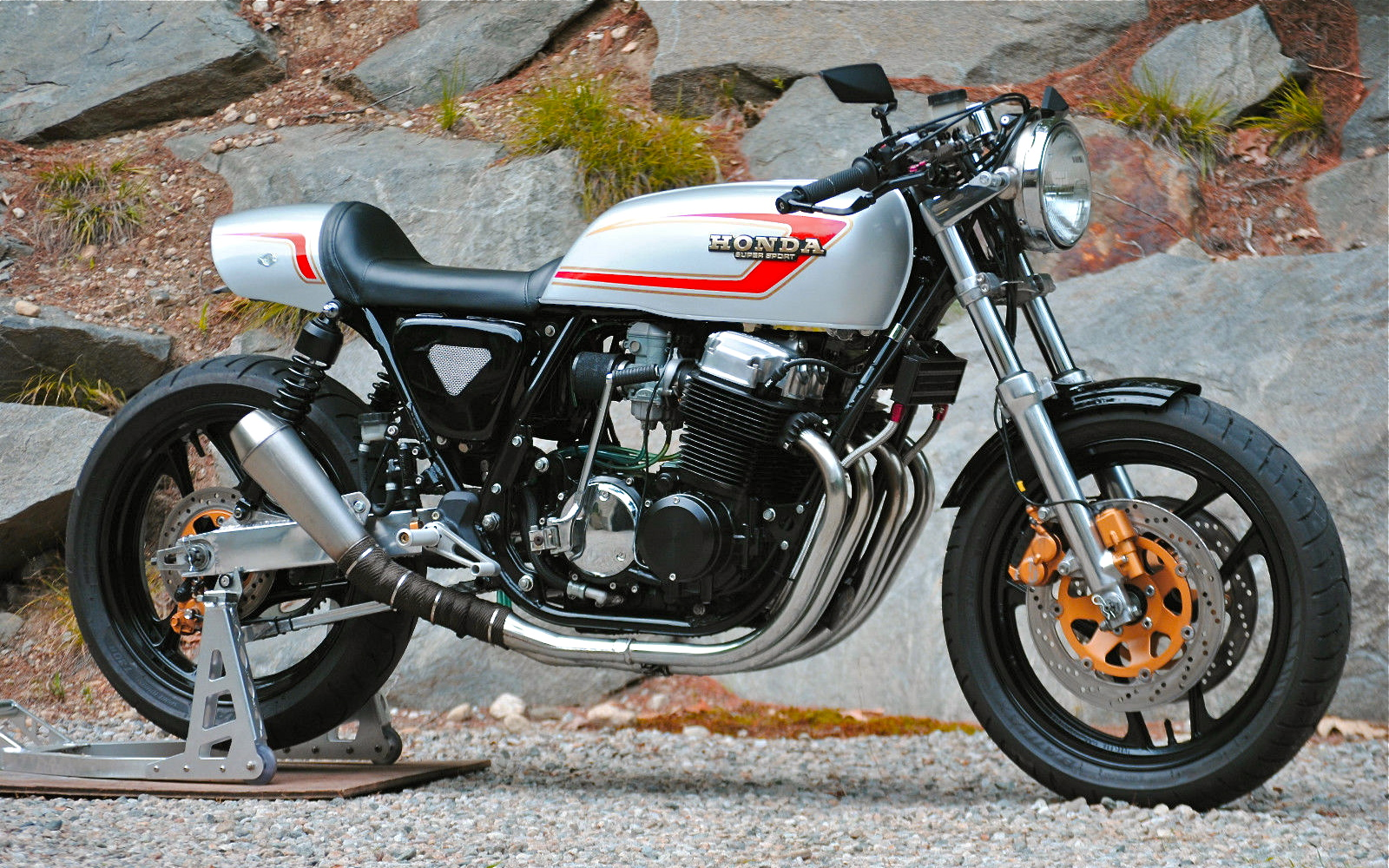 1978 CB750F Cafe Racer 836cc By Tom Laws