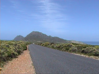 Cape Point and Cape of Good Hope road South Africa route Cap de Bonne-Espérance Afrique du Sud