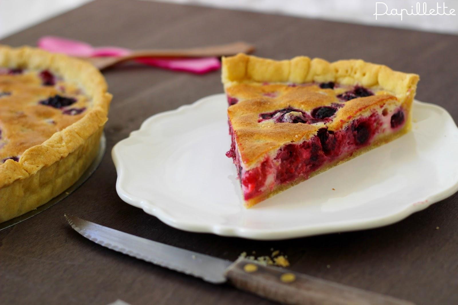 tarte amande fruits rouges