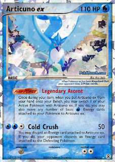 Articuno EX FireRed and LeafGreen Pokemon Card Set