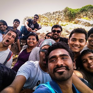 Selfie at Makalidurga