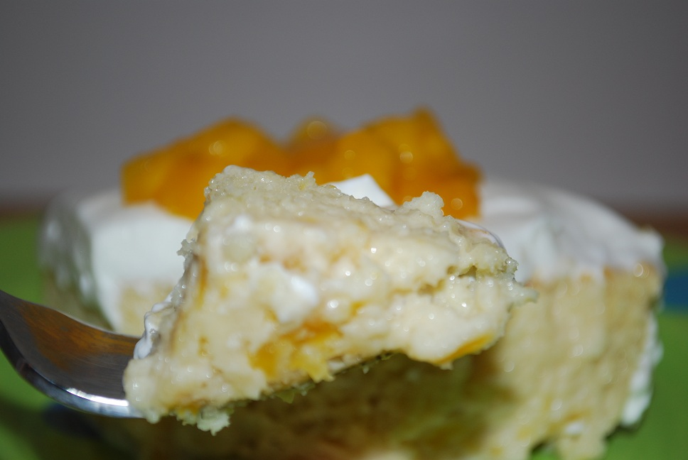 Gourmet Rooster: Mango Tres Leches Cake