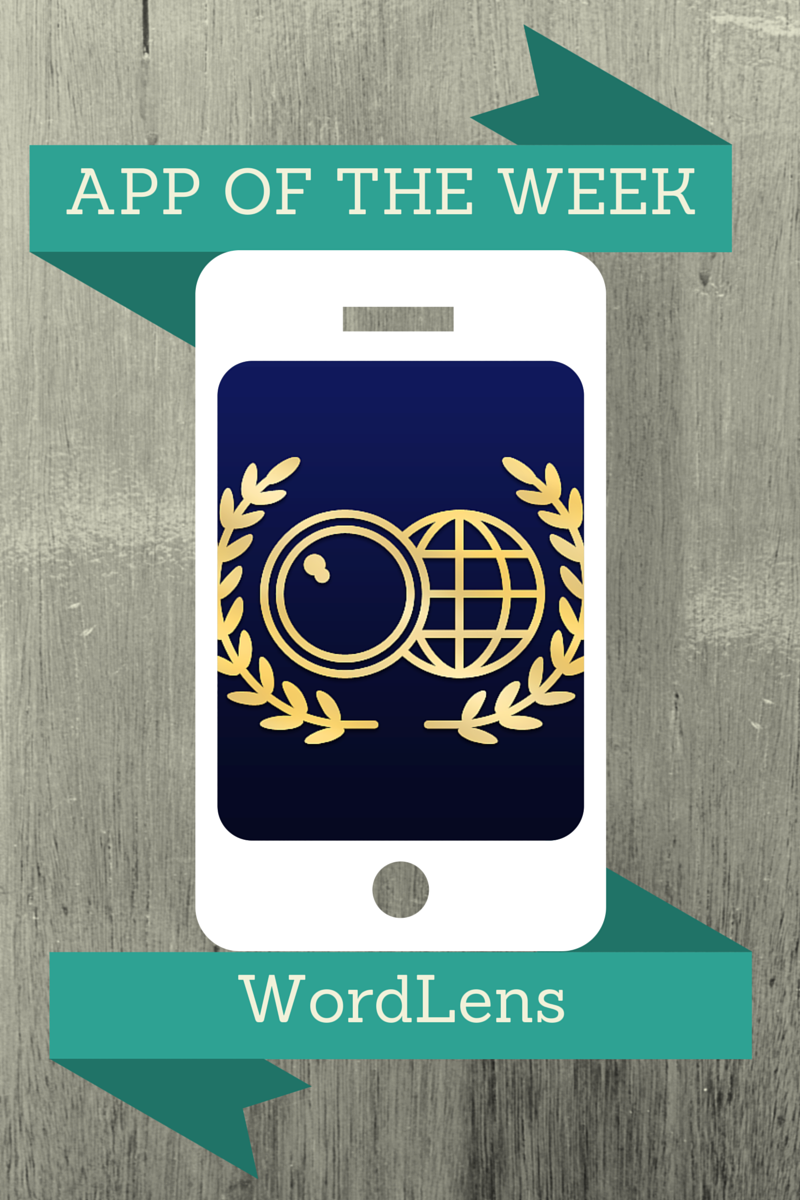 WordLens App Week