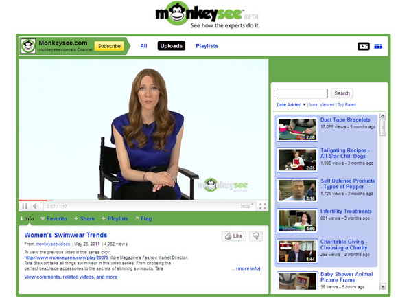 MonkeySee Top 10 Best How To YouTube Video Channels